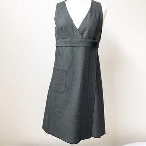 Anna Sui for Anthropologie Sleeveless Wrap Dress